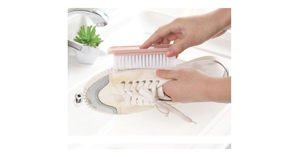 как очистить белую подошву