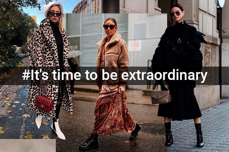 It s time to be extraordinary. Необычная модная обувь коллекции ... a7845679433