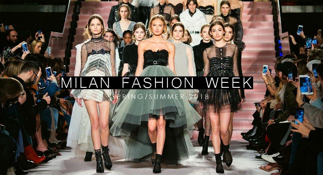 96aa8a24d6b7 Неделя моды в Милане SS 2018: подбираем обувь к самым последним тенденциям  мировых дизайнеров